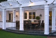 Home {Decks} / An outdoor floor attached to a building made of only wood or woodlike material.
