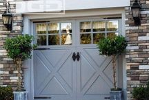 Home {Garage} / a building or a residence for storing a car