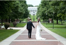 Weddings  / Photos of alums who got married on-campus or on their way to the altar....