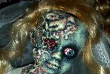 Holiday {Halloween Doll Heads} / Nothing creepier than a disembodied doll head.