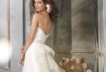 Weddings; wedding dresses