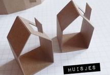 Cardboard Craft Ideas / Inspiration for future Cardboard Craft Projects