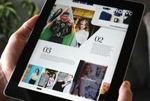 digital editorial / Magazine design for the iPad (mostly) and other digital platforms