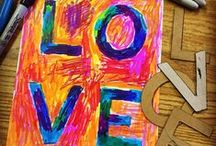 APFK Sharpie Projects / A collection of art projects from my website that use Sharpie markers.  / by Art Projects for Kids