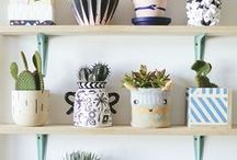 PLANTS AND NATURE / Decorating with plants and inspiration from nature.