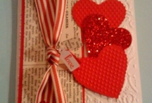 Cards: Valentines -dec / Valentine cards, embellished, decorated and various frames, gifts for Valentines day