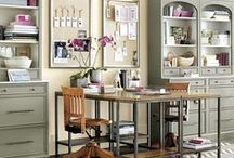 Craft Room. home studio. office. or.ga.ni.zed. / Wonderful ideas for your place of comfort. / by Marie Maurrasse