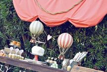TRAVEL PARTY inspiration / Decor, food, travel party ideas
