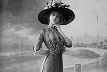 """Fashion 1900 to 1910 - Anna Blanc's Closet / """"Anna made a mental list of things that would make her life perfect: her own prisoner; Mr. Wright and her father's permission to be a matron and to sleep overnight in the jail; matron uniforms designed by Vionnet at the House of Doucet; and a joint assignment with Eve McBride to solve a murder.""""    From THE SECRET LIFE OF ANNA BLANC.   For free books from the early 20th c, previews of upcoming books, and more fun stuff, sign up for my mailing list at www.jenniferkincheloe.com"""
