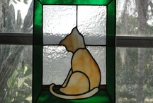 my art passion / stained glass, glass and pottery / by Cheryl Barron