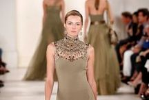 HAUTE*** COUTURE. MODA. / Everyday is a fashion show and the world is your runway. / by Marie Maurrasse