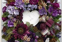 Wreaths and mantle ideas / by Pauline Clarke