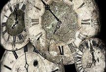 Clocks / by Pauline Clarke