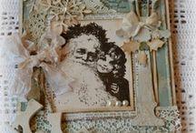Cards: Christmas hand made / Handmade Christmas cards