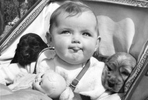 Vintage Pets / Dogs, cats, pigs, and chickens, and the people who love them.