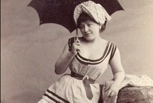 Bathing suits, early 1900s / For free books from the early 20th c, previews of upcoming books, and more fun stuff, sign up for my mailing list at www.jenniferkincheloe.com