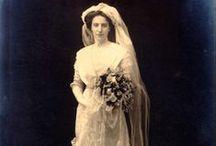 Wedding Dresses, Late 1800s-1920s