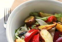 Suppen & Salate | soups & salads / Cremige Suppe oder knackiger Salat? Hier ist meine Sammlung.