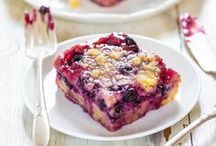 """Blueberry Recipes / """"Berry"""" delicious blueberry recipes!  / by foodgawker"""