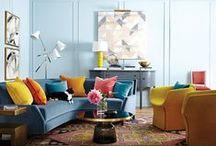 Salons et séjours / Découvrez nos plus beaux salons et séjours! On vous présente une foule d'idées déco pour transformer votre salon en une oasis de détente.