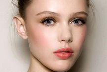 Fresh make-up looks