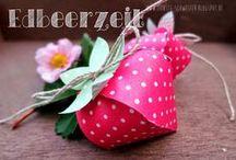 1. Geburtstag für Helena - Erdbeerparty / Wir planen den ersten Geburtstag unserer kleinen Maus. Hier sammle ich Ideen und Inspiration rund um unser Erdbeer-Fest.