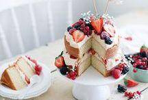 Naked Cakes / Inspirationen für meinen ersten Naked Cake