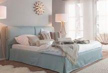 Scandinavian - Schlafzimmer / -Schlafzimmer  - bezahlbar  - Scandinavian - bedroom