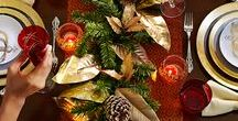 xmas dinner! / find easy and tailor made ideas for your christmas table! inspired and create! by Cleopatra