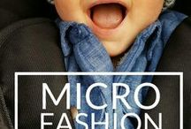 microfashion / baby boy fashion