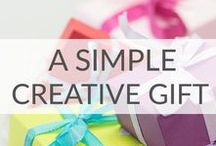 Simple Gift Ideas / Simple gift ideas that are cute and inexpensive.