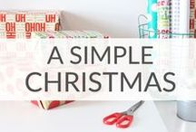 Simple Christmas Ideas / Simple Christmas ideas to keep your holiday season more JOYFUL.  Christmas food, Christmas decoration ideas, Christmas tradition ideas.