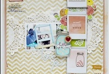 Craft: Scrapbook Layouts / Scrapbooking layouts I enjoy and might scraplift.