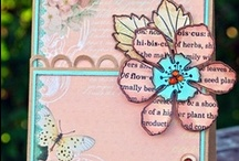 Cards - Stamped and Paper Pieced
