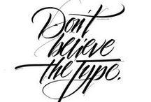 Letras, Grafias e Tipos / by Leonardo Braz