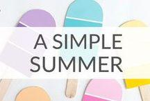 Simple Summer Fun / Summer fun ideas for kids, teens, and families.
