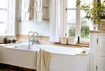 Bathroom ideas / by April Radcliff-Caraher