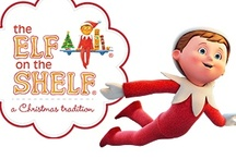 Elf on the Shelf / Fun ideas to do leading up to Christmas - Secret Angel for nice things, naughty elf gets up to mischief, etc...