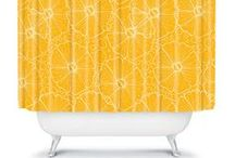 TRENDS -Home Decor 2014 / Yellow takes first place, Floral patterns on white background, Creative clashes, Touchy, feel fabrics, Quirky accesories, and The year of man.  / by Njeri Vē. Kamau
