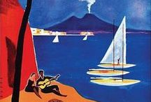Sea: art and vintage posters