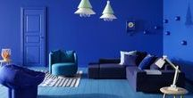 London Design Fair: IKB / International Klein Blue, Yves Klein Blue, Ultramarine Blue, London Design Fair Blue...