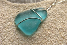 Beach Wedding Jewelry / A collection of sea glass and beach jewelry handmade for your bridesmaid gifts and your destination wedding. www.BostonSeaGlass.etsy.com bostonseaglass@gmail.com