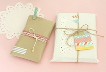 It's all about Packaging =) / gift wrap • packaging supplies • diy
