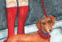 Dachshund Goodies / Dachshunds goodies / by Vicki Stangle