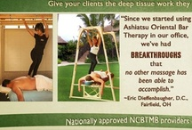 Ashiatsu Classes & Training / Are you a massage therapist who is ready to learn barefoot massage? Ashiatsu Oriental Bar Therapy classes are available nationwide, you can view course descriptions and see the schedule at http://www.deepfeet.com/courses.htm / by Ashiatsu DeepFeet Bar Therapy