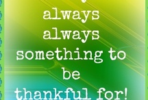 Expressing Gratitude / For what & how does one express gratitude?