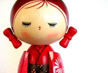 Kokeshi Love / Japanese Kokeshi Dolls