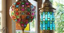 Chandeliers and Swag Lamps / Chandeliers, Swag Lamps, Crystals and Glass...can't get enough!