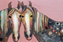 Horses / by Leslie Bishop
