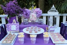Purple party ideas / Is your favourite colour purple - or do you have an event coming up that you are decorating purple? We have the ideas at www.thecompletekidsparty.com.au